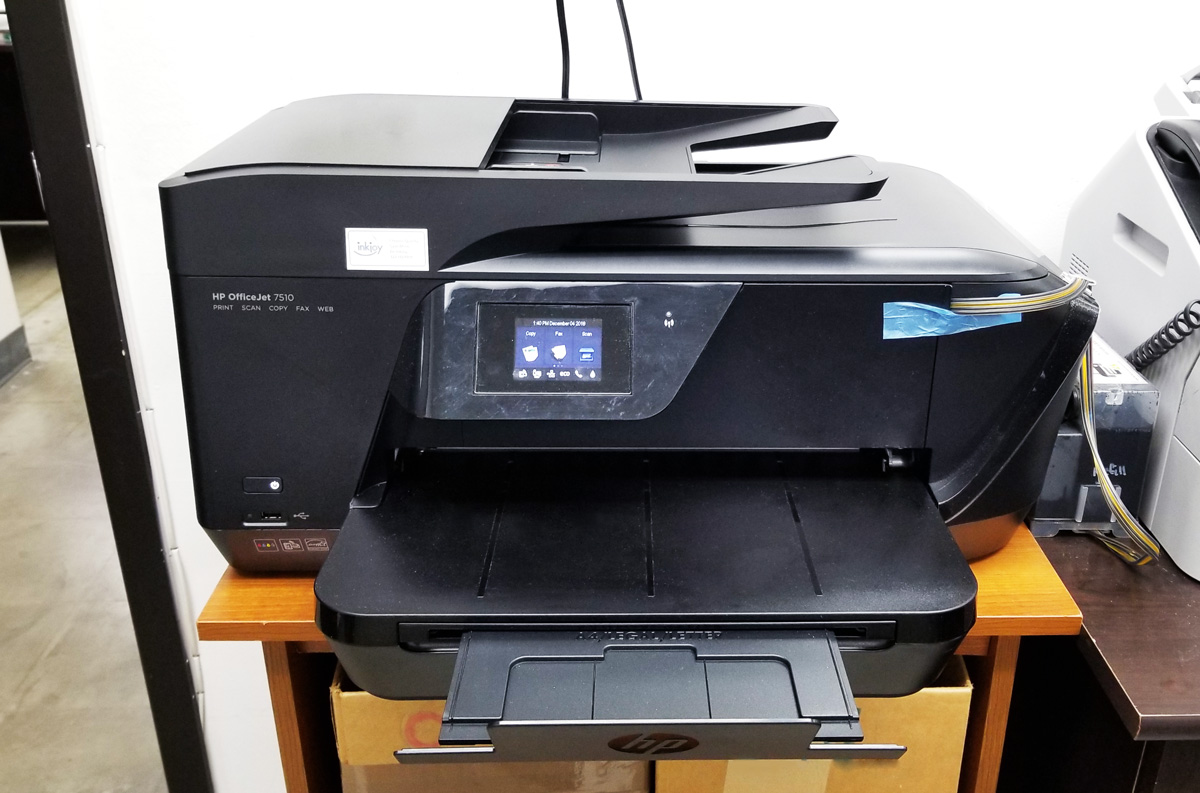 사무실 무제한 컬러 프린터